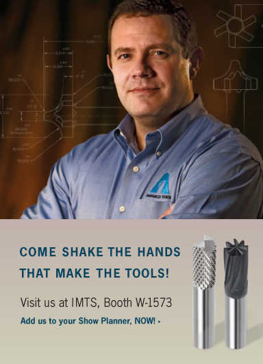 Visit us at IMTS, Booth W-1573