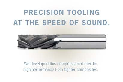 Compression Router. Precision Tooling at Speed of Sound