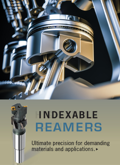 Brased tip precision reamers for demanding materials and applications.